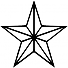 Star dxf File