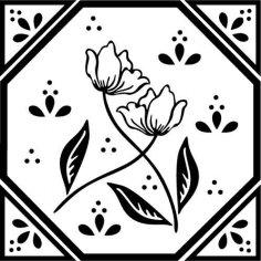Flower Design 23 EPS File