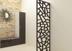 Classic Design Decorative Screen DXF File