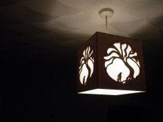 Moon Hare Night Light Lamp DXF File