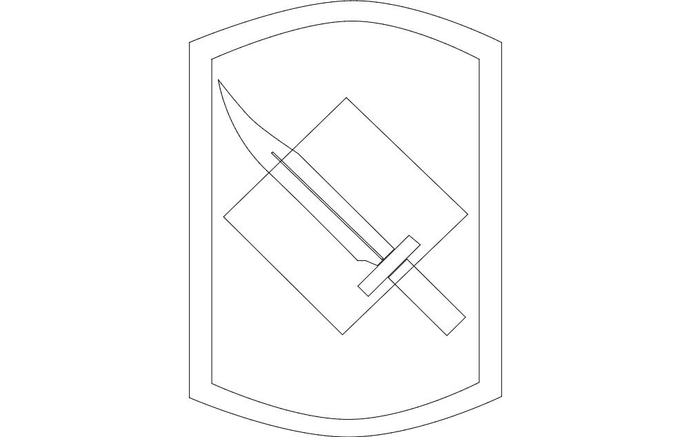 Knife dxf File