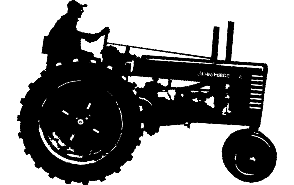 John Deere 1 Tractor Dxf File Free Download 3axis Co