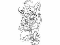 Clown 014 Full dxf File