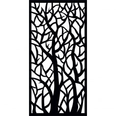 Décor Screen Panel dxf File