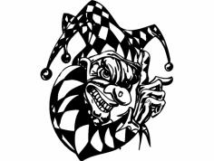 Clown 010 dxf File