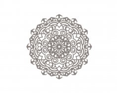 Mandala design drawing vector CDR File
