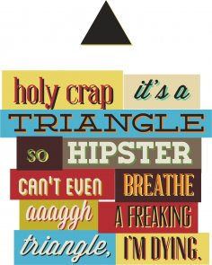 Triangle Print CDR File
