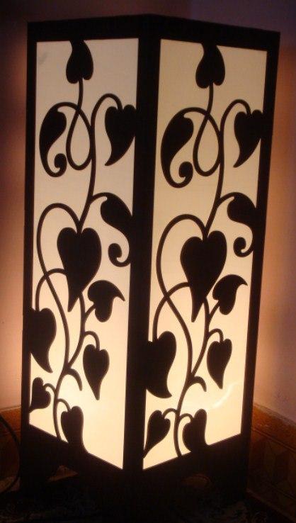 Room Lamp DIY 3d Puzzle Vector
