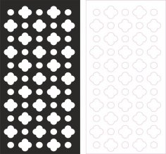 Laser cut pattern vector dxf File