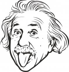 Albert Einstein Vector Free Vector