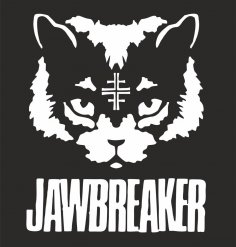 Jawbreaker Cat Sticker Vector Free Vector