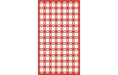 Ornamental Panel 7 dxf File