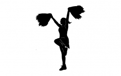 Cheerleader dxf File