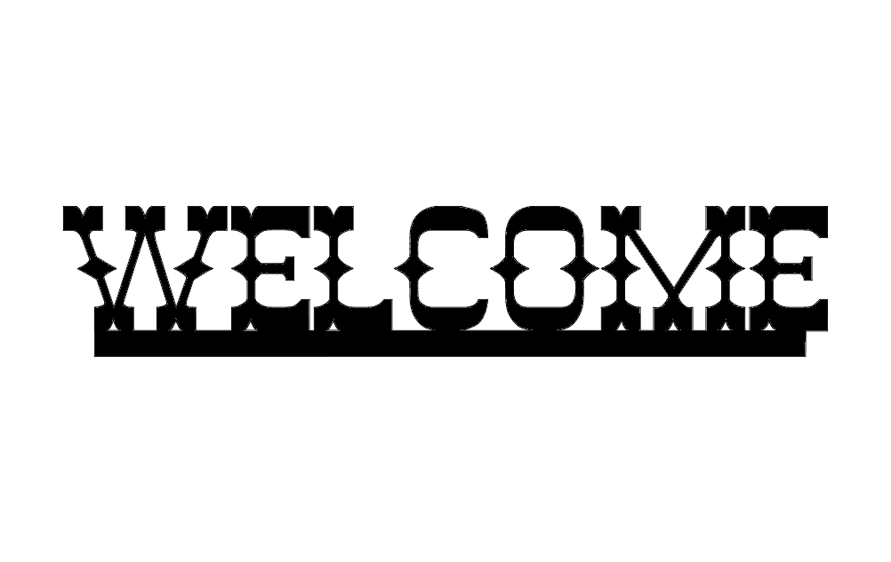 Welcome west dxf File