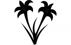 Lillies dxf File