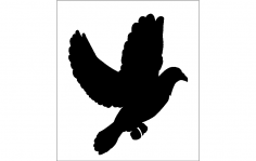 Emba 3mm 1 Adet (Pigeon) dxf File
