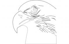 Eagle Head dxf File
