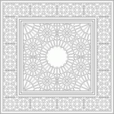 Islamic Pattern 2D DWG File