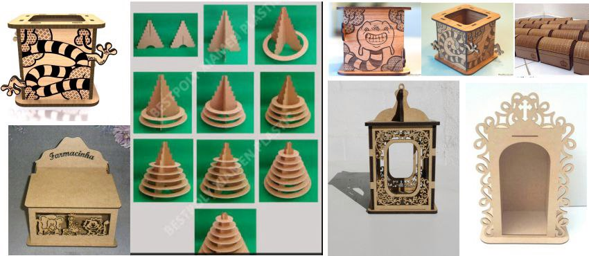 3D Puzzle Mega Pack  Laser Cutting CNC Router Free Vector