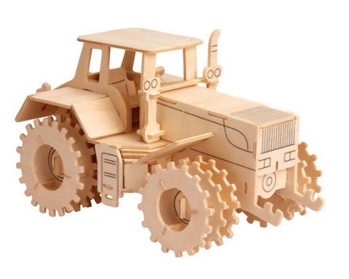 Tractor Laser Cut CNC Plans PDF File