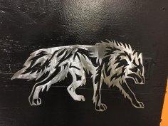 Wolf Tribalda dxf File