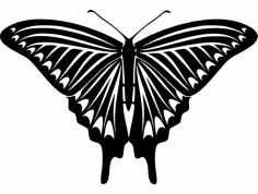 Butterfly 04 dxf File