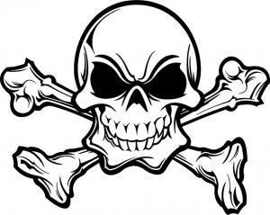 Skull 666.dxf