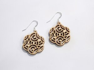 Oriental Earrings dxf