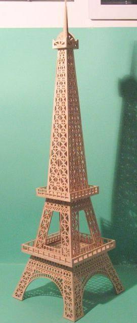 Eiffel Tower dxf