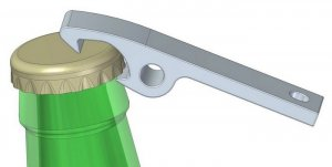 Bottle Opener dxf File