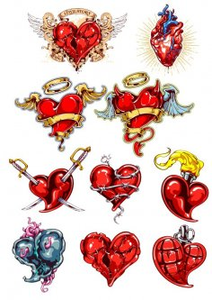 Heart Tatoo CDR File