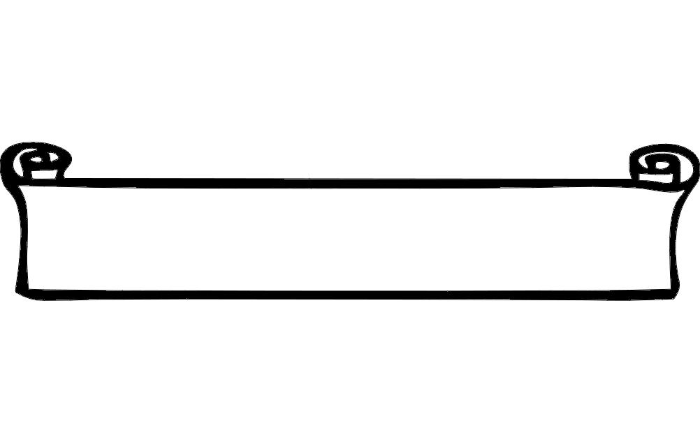 Frame dxf File