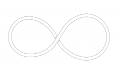 Infinity Symbol dxf File