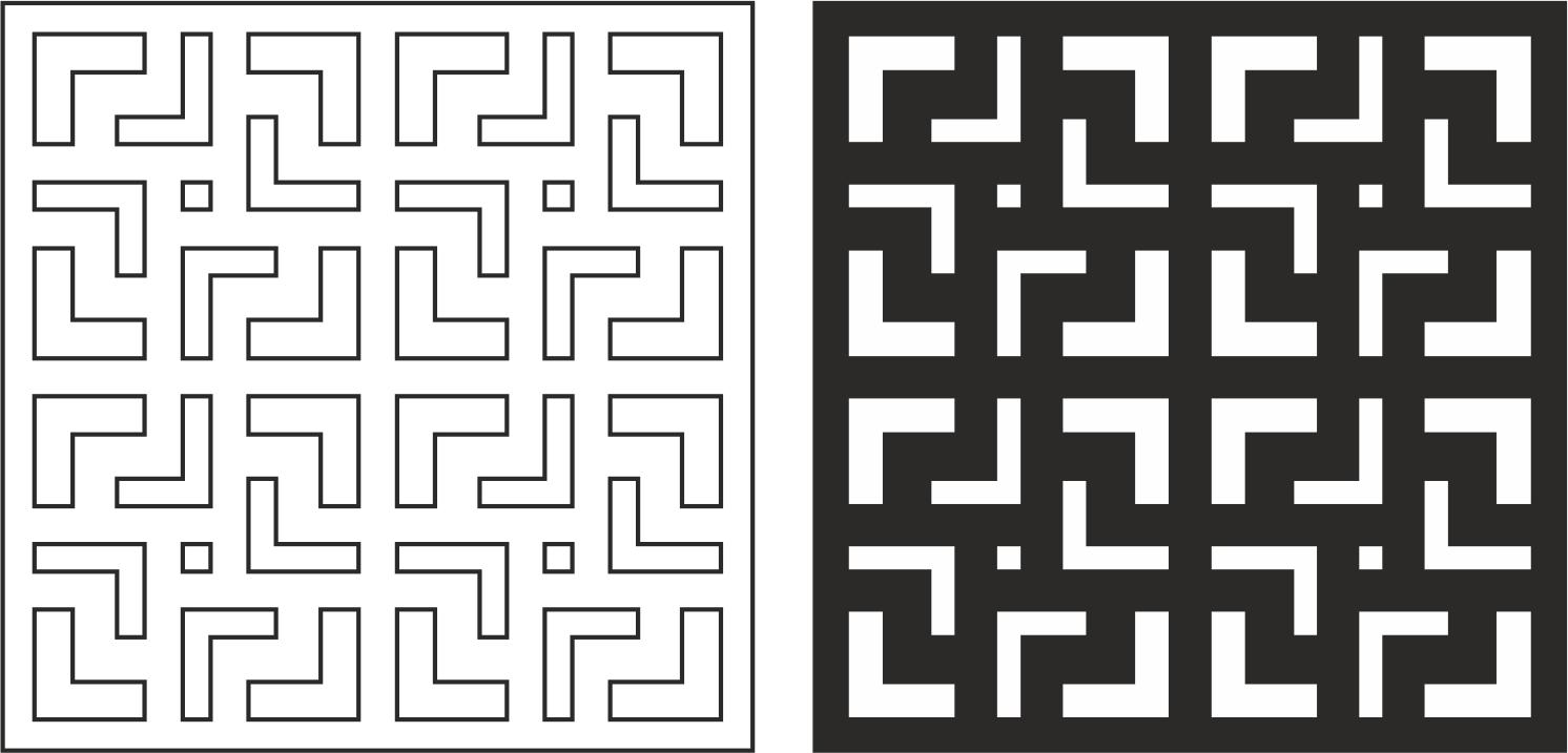 Modern Pattern Design CDR File