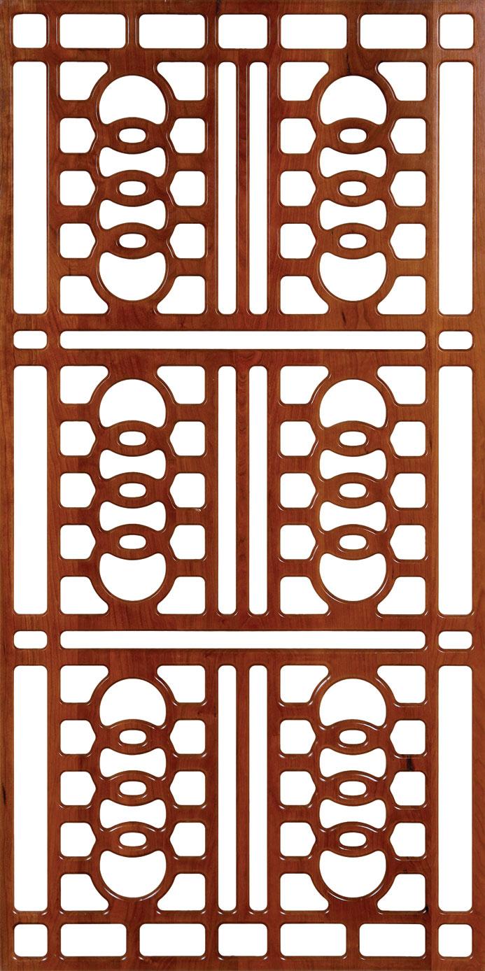 Wall Separator Pattern 300-v38 dxf File