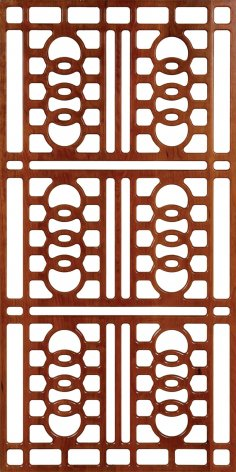 Wall Separator Pattern 300-v38 dxf File
