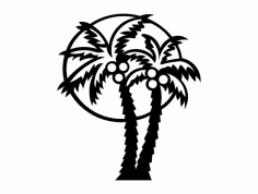 Palm tree dxf File