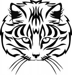 Muzzle Cat Vector