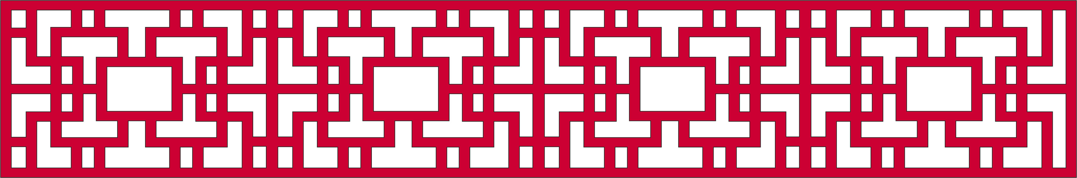 Decorative Pattern for lattice dxf File