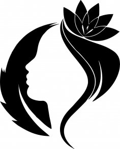 Spring Woman Vector Art jpg Image