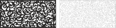 Swirl Floral Vector Free Vector