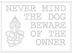 Beware Owner dxf File