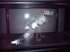 Tyrannosaurus Aka Trex dxf File