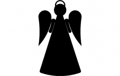 Angel ornwt 2 dxf File