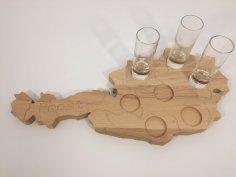 Liquor board dxf File