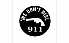 we dont dial 911 dxf File