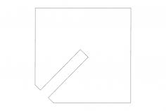 Spike Tab dxf File