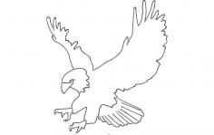 Eagle 4 dxf File