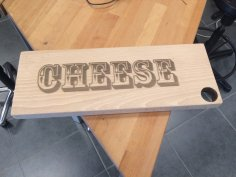 Chopping Board Designs Cheese Laser Cut SVG File