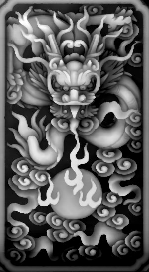 3d Grayscale Image 271 BMP File